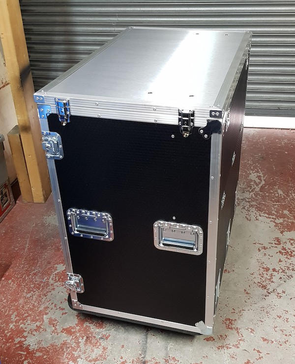Double Door Events Fridge Flight Case