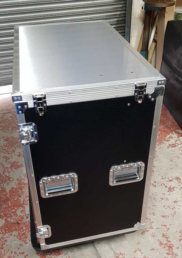 Double Door Portable Fridge Flight Case
