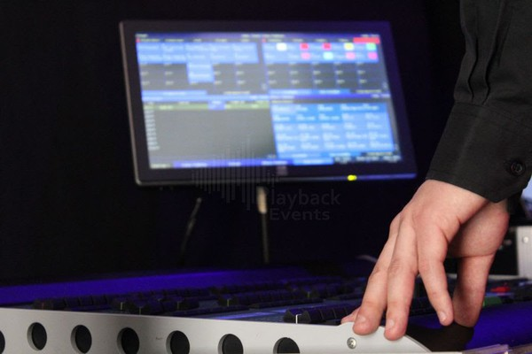 Used lighting console