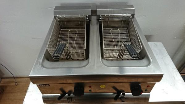 Twin fryer for sale