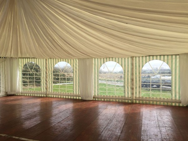 Used framed marquee for sale