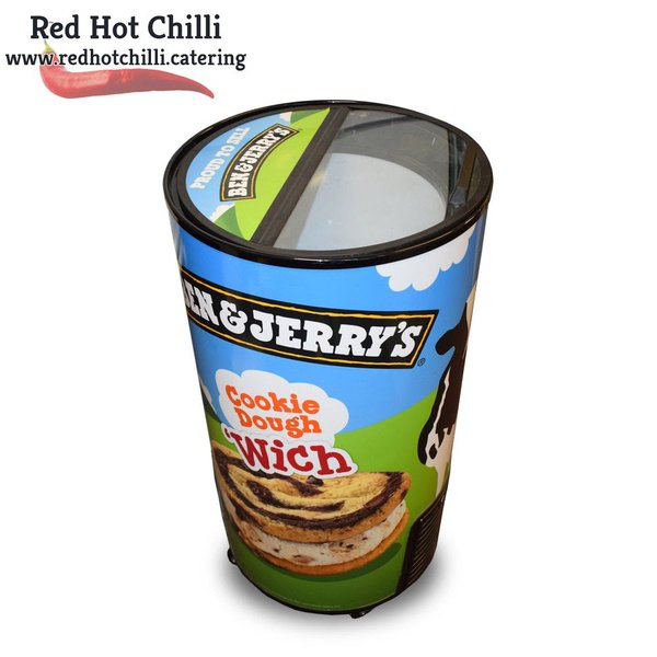 Ben and jerry freezer for sale