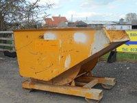 Forklift tipping skip
