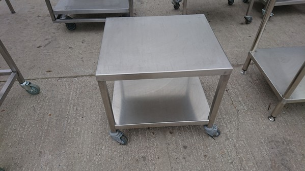 Stainless steel ovan stand
