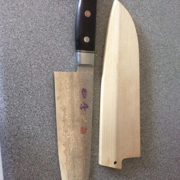 Japanese Damascus knives for sale