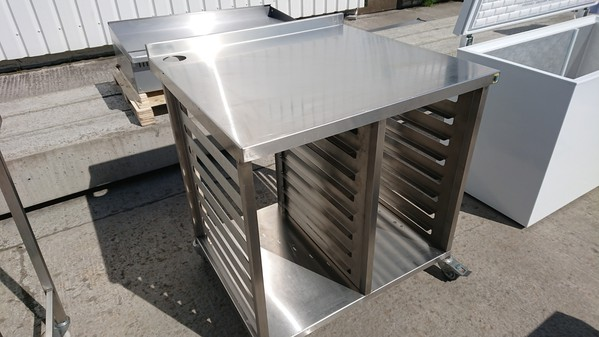 Stainless steel oven stand