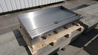 Flat plate griddle