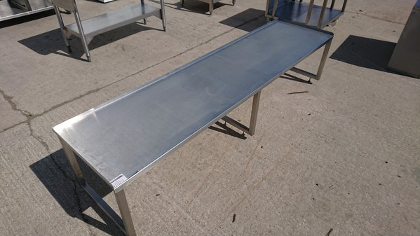 Stainless steel gantry shelf