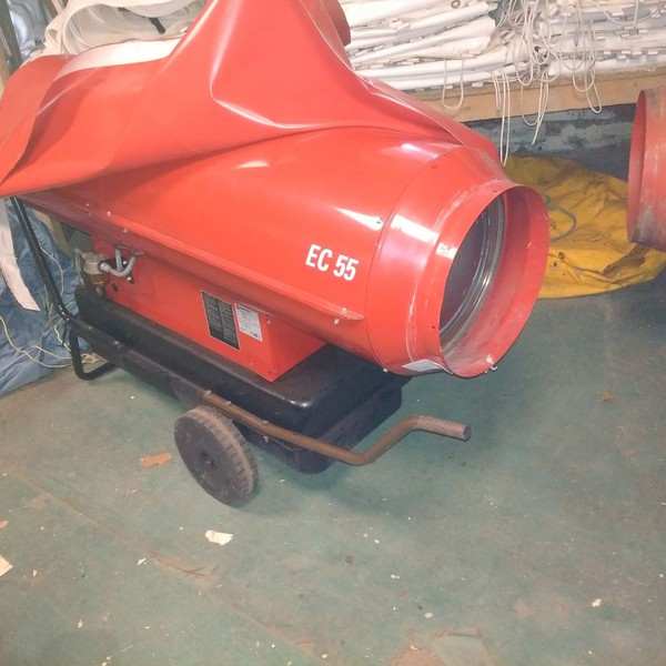 Used acotherm heater