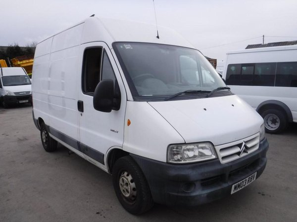 Used citroen van for sale
