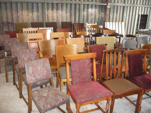 Mixed Vintage chairs for sale