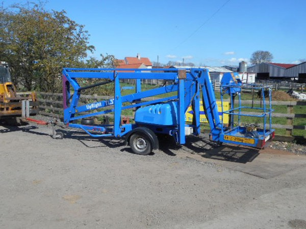 Towable cherry picker for sale