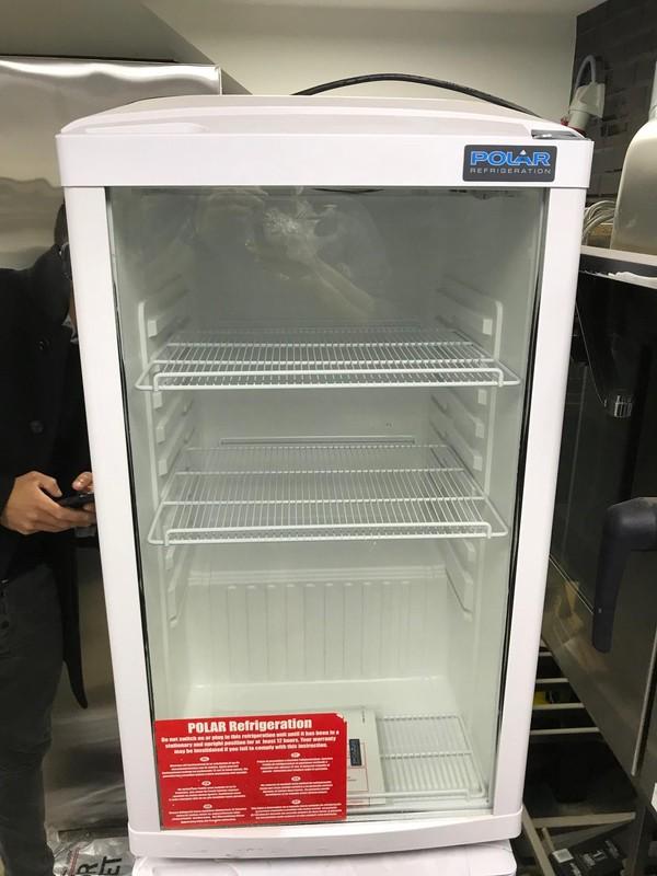 undercounter display fridge