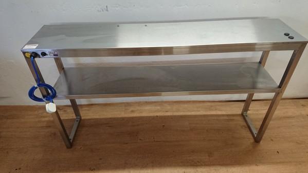 Heated gantry shelf for sale