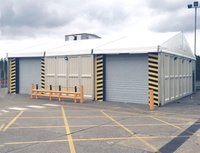 Warehouse marquee for sale