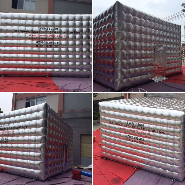 New inflatable cubes
