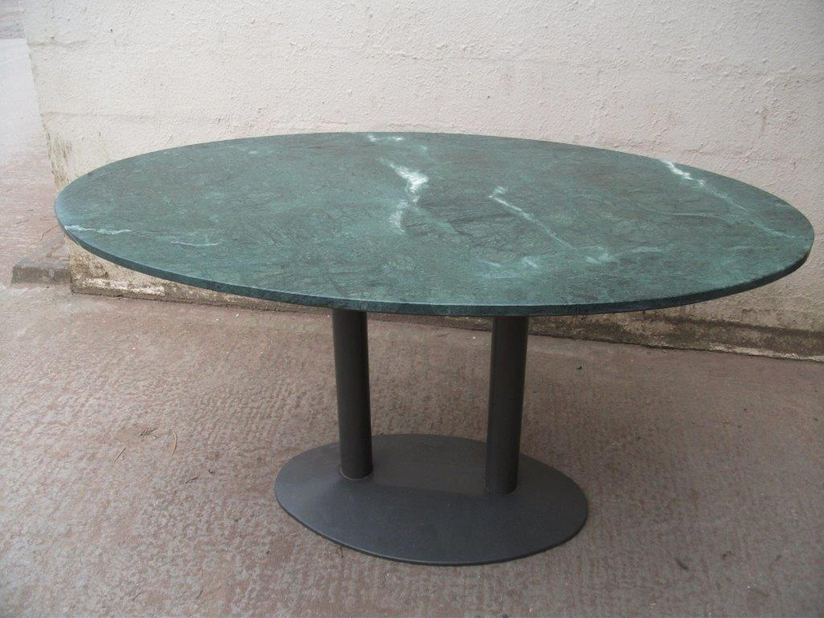 Secondhand hotel furniture dining tables 1x marble top for Marble table tops for sale