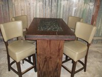 Poseur tables and chairs for sale