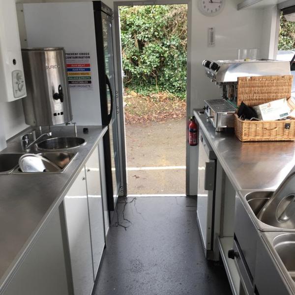 Used food trailer
