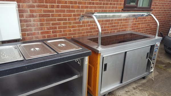 Heated gantry counter for sale