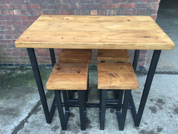 New tables and stool for sale