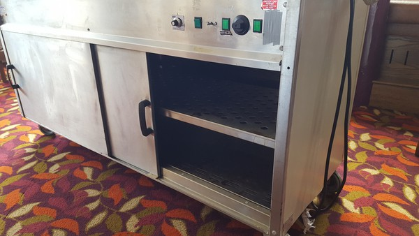 Secondhand carvery trolley
