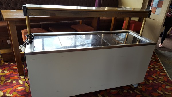 Secondhand catering trolley
