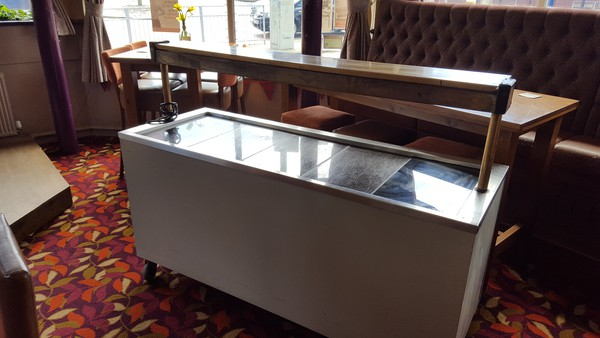 Used carvery trolley