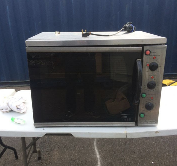 Burco bake off oven for sale
