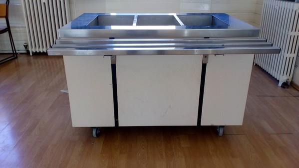 Stainless Steel Bain Marie and Hot Cupboard for sale