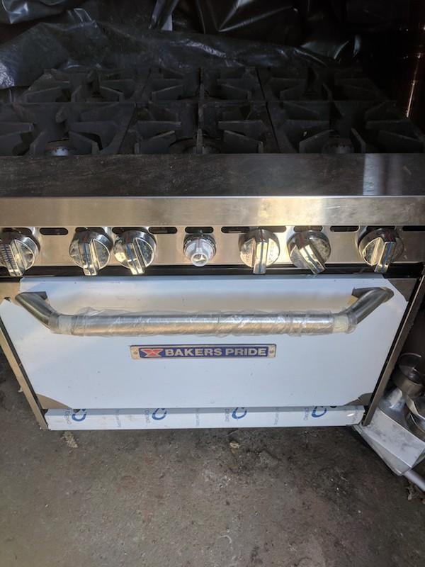 Baker's Pride Natural Gas Oven