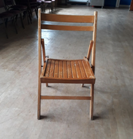 Wooden folding chairs for sale