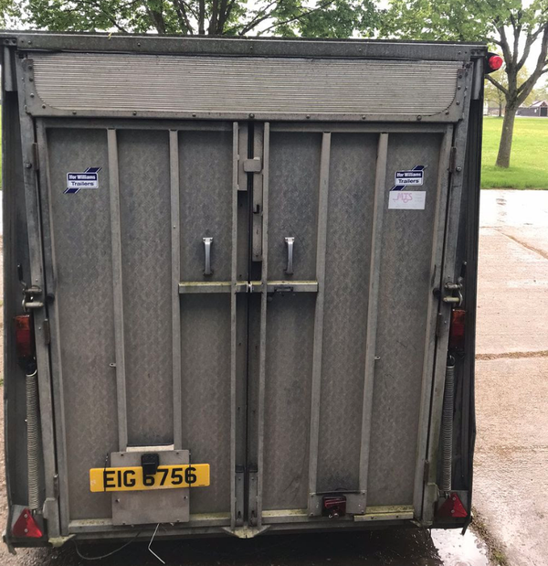 Secondhand ifor trailer for sale