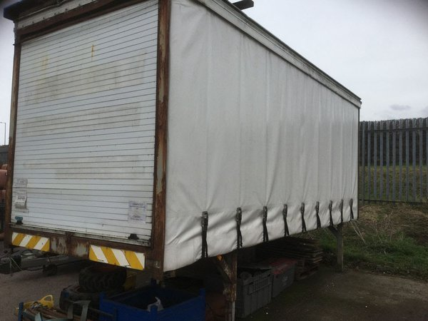 Curtainside storage container for sale