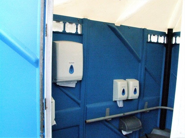Portable disabled loo
