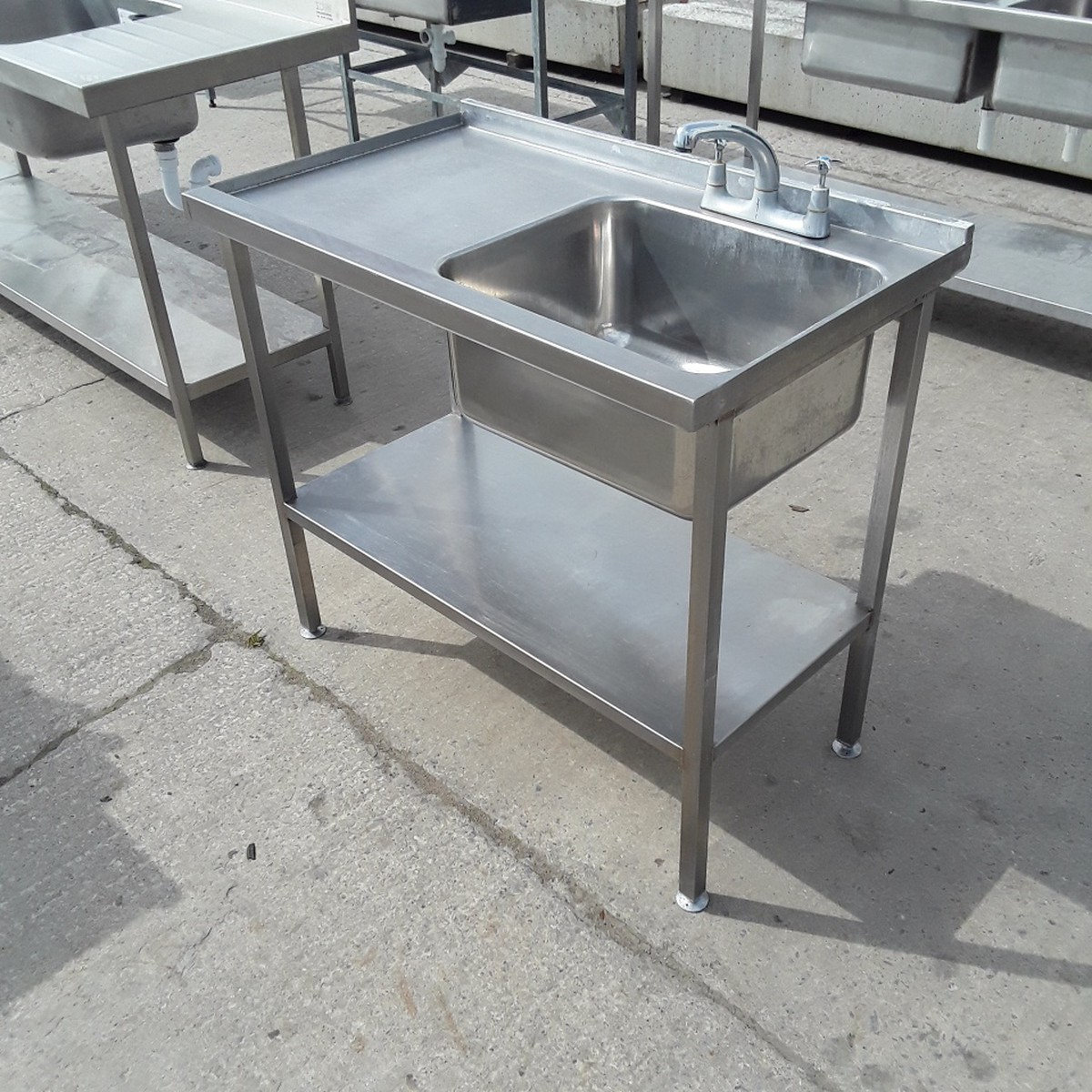 second hand kitchen sinks for sale secondhand catering equipment single sinks used 9273