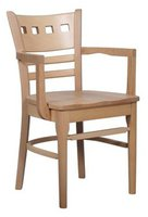 Light wood arm chairs for sale