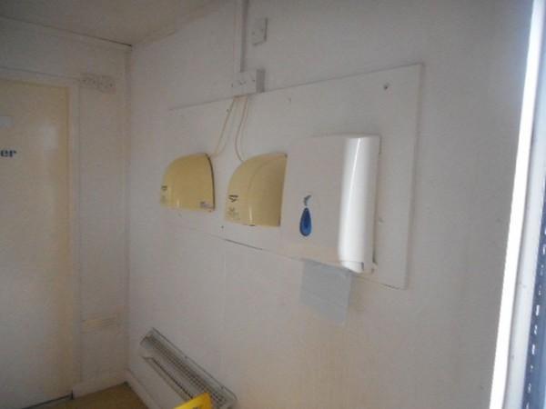 Used anti vandal toilet block for sale