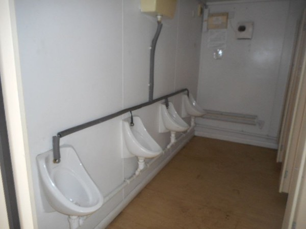 Used toilet block for sale