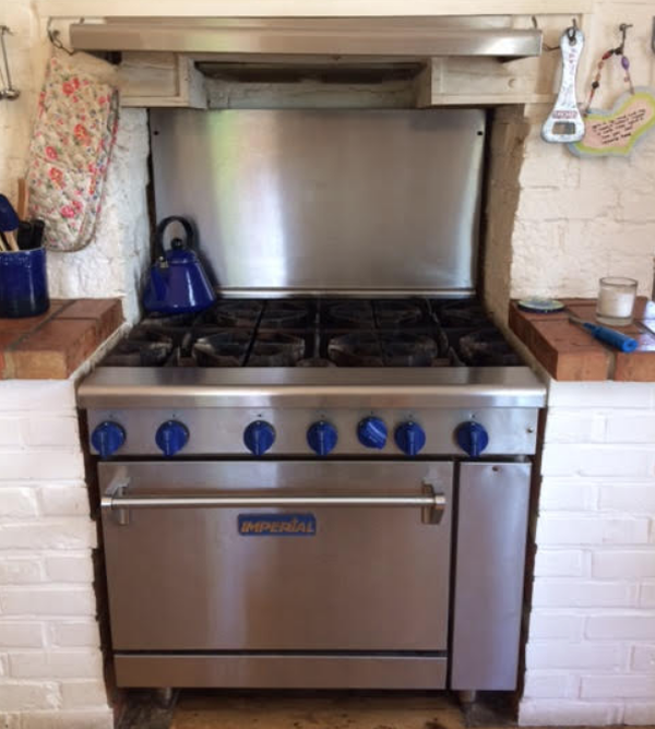 Gas range cooker for sale
