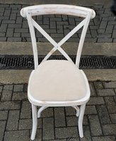 Cross backed banqueting chairs