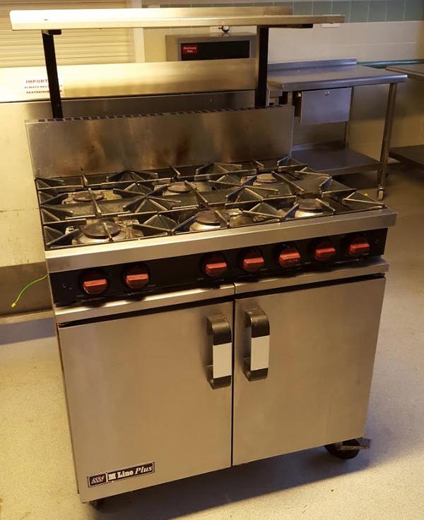Gas range cooker for sale