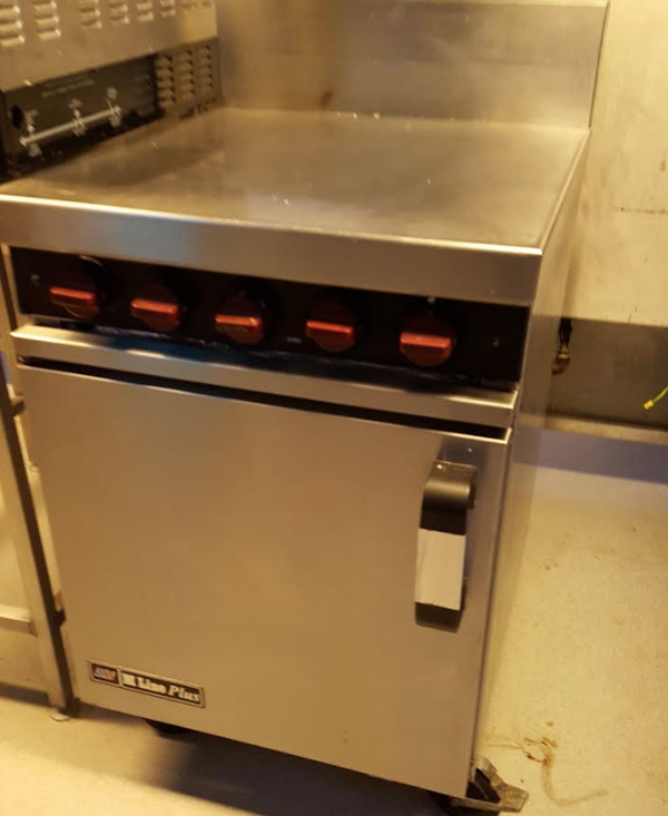 Used natural gas cooker