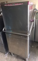 Commercial pass thorough dishwasher