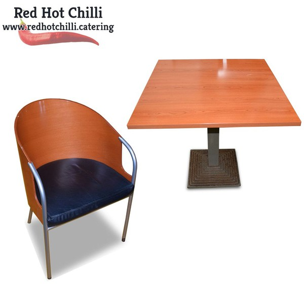 Cafe tables and chairs set