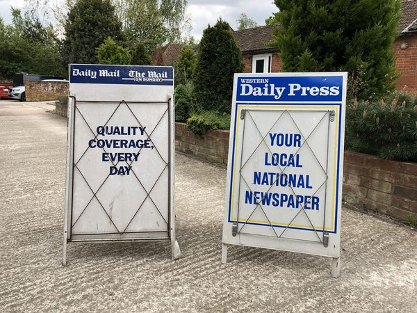 Newspaper Stand Props