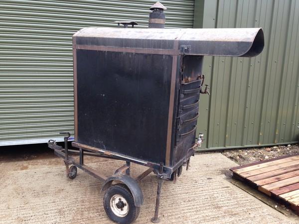 LPG potato oven
