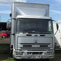 Mobile kitchen lorry for sale