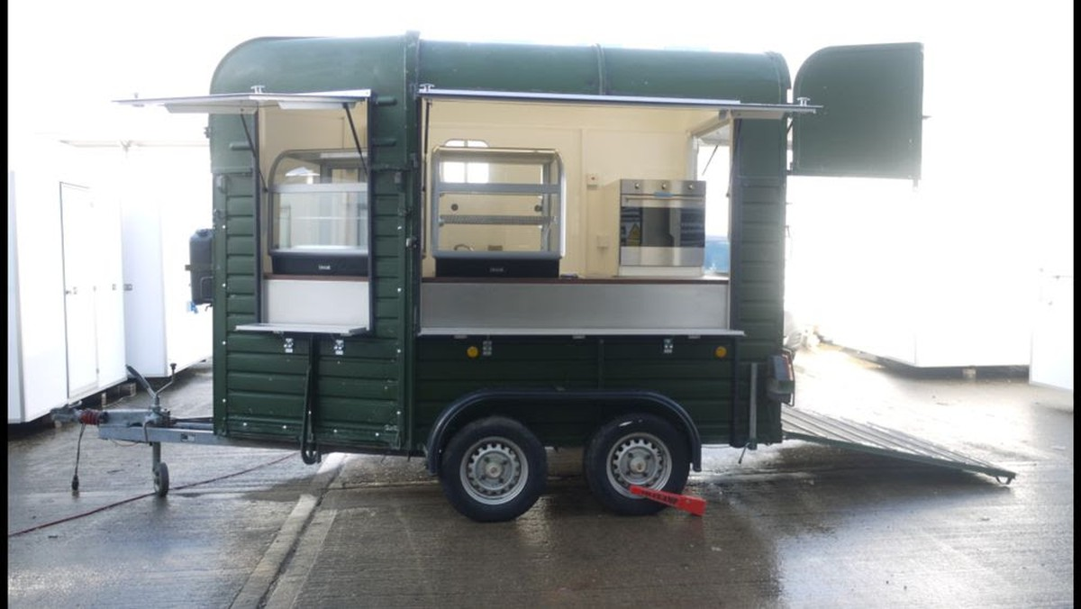 Brand New AJC Horse Box Catering Trailer - Monmouthshire, Wales