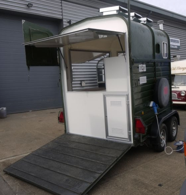 Buy catering trailer Wales